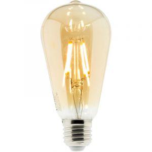 Conforama Ampoule LED Déco filament ambrée 4W E27 Edison - ELEXITY