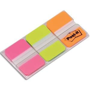 Post-It Index 3 x 22 marque-pages 25 x 44 mm 3 couleurs