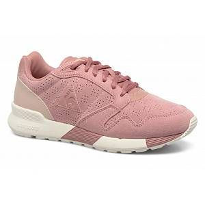Le Coq Sportif Omega X Rose Baskets/Rétro-Running/Baskets Femme