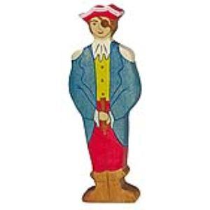 Holztiger Figurine Capitaine