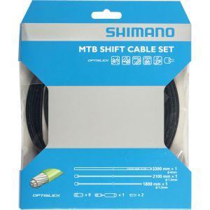 Shimano Kit et Gaines de Cà¢bles de Dérailleur Mtb OT-SP41 Optislick Scellés avec Butées