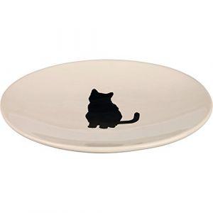 Trixie Assiette céramique L18 l15cm - Gamelle pour chat