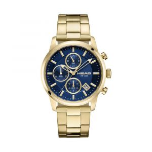 Head Watches Montres Match Point - Gold Yellow / Blue - Taille One Size