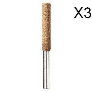 Dremel 454 - Meule d'affûtage de chaîne de tronçonneuse 4,8 mm (Lot de 3)
