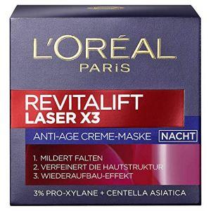 L'Oréal Revitalift Laser x3 - Crème-masque anti-âge nuit