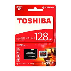 Toshiba THN-M302R1280EA - Carte mémoire microSD 128 Go Classe 10