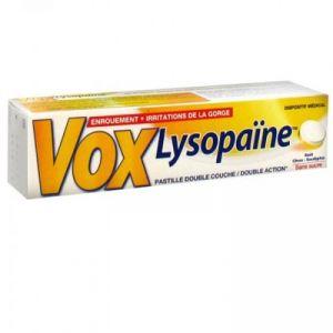Boehringer Ingelheim Vox Lysopaïne citron eucalyptus - 18 Pastilles