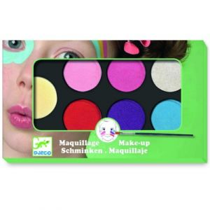 Djeco Palette de maquillage 6 couleurs Sweet