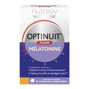 Nutreov Optinuit flash mélatonine - 30 comprimés orodispersibles