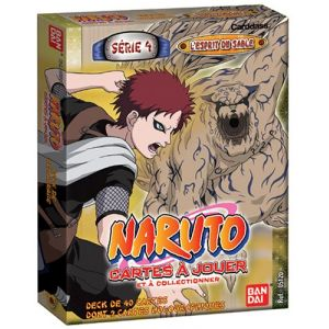 Bandai Naruto JCC - Starter Série 4 (Pack de 2)