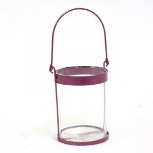 Atmosphera Lanterne de jardin - Métal - Violet