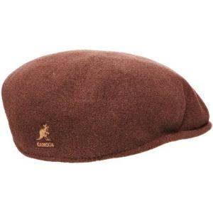 Kangol Bonnet Wool 504 - Mixte - Marron (Tabac) - Small