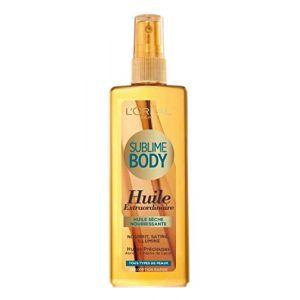 L'Oréal Sublime Body - Huile sèche nourrissante corps 150 ml