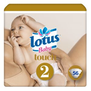 Lotus Baby 56 couches baby T2 (3 / 6 kg)