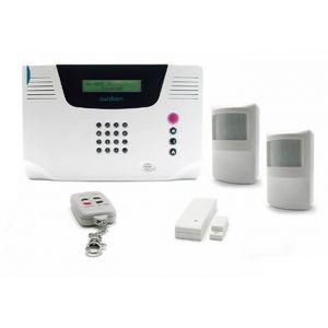 Avidsen Kit alarme maison multi-zones sans fil + 2 détecteurs infrarouges 100740
