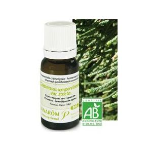 Pranarôm Cyprès toujours vert - Huile essentielle Bio (5 ml)