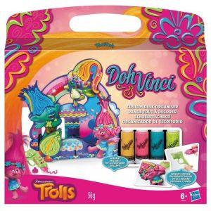 Hasbro Doh Vinci : Range-tout à décorer Trolls