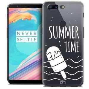CaseInk Coque OnePlus 5T (6 ) Extra Fine Summer Summer Time