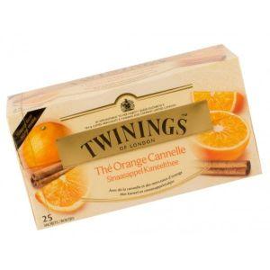 Twinings Thé à l'orange et canelle - Les 25 sachets, 50g