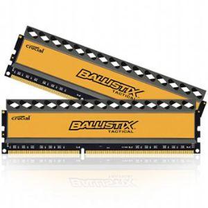 Image de Crucial BLT2CP4G3D1608DT1TX0CEU - Barrettes mémoire Ballistix Tactical 2 x 4 Go DDR3 1600 MHz Dimm 240 broches