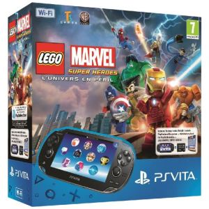 Sony PS Vita Wi-Fi + Lego Marvel Super Heroes (voucher) + Carte Mémoire 4 Go