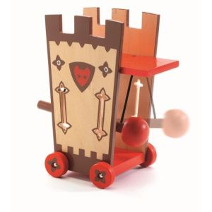 Djeco Figurine Arty Toys - Les chevaliers : Darius et Ze attack Tower