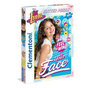 Clementoni Soy Luna - Puzzle brillant 104 pièces