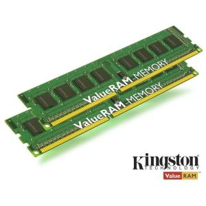 Kingston KVR13N9S8K2/8 - Barrettes mémoire ValueRAM 2 x 4 Go DDR3 1333 MHz 240 broches