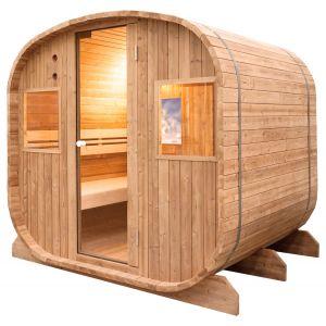 Sauna Extérieur Barrel Vapeur