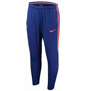 Nike Pantalon de football Atletico de Madrid Dri-FIT Squad pour Homme - Bleu - Taille M