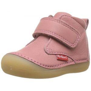 Kickers Sabio - Bottines et boots Enfant, Rose