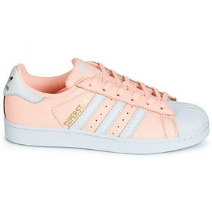 Adidas Chaussures SUPERSTAR W - Couleur 36 - Taille Rose