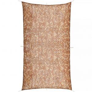 VidaXL Filet de camouflage avec sac de rangement 4 x 8 m