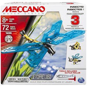 Meccano Insectes 3 modèles