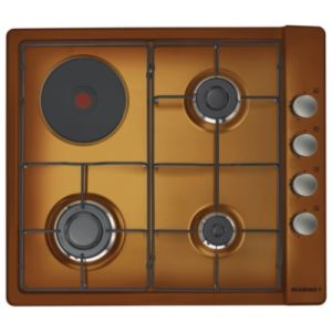 Rosières RTL 631 EM - Table de cuisson mixte (gaz et électricité) 4 foyers