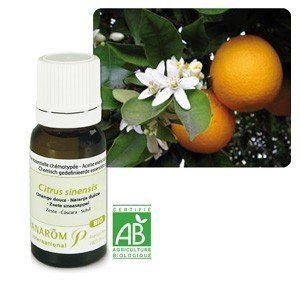 Pranarôm Huile essentielle Bio d'orange douce, 10 ml