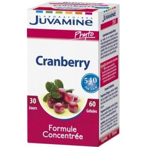 Juvamine Phyto - Cranberry 60 gélules