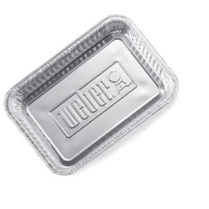 Weber 6415 - Petites barquettes en aluminium pour barbecues