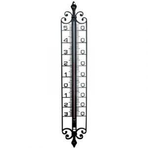 Stil Thermomètre imitation fer forgé