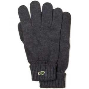 Lacoste RV4214 Gants, Gris (Moha Chiné 2wa), Large (Taille Fabricant:L) Homme