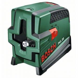 Bosch Pcl 20 Deluxe Niveau Laser Croix Comparer Avec Touslesprix Com