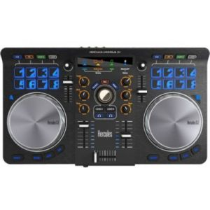 Hercules Hercules Universal DJ - Contrôleur DJ avec écosystème complet pour Deejays connectés