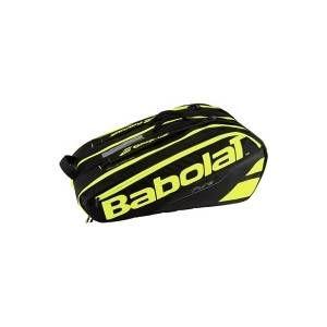 Image de Babolat RH x 12 Pure Pochettes pour Raquettes de Tennis Unisexe Adulte Taille Unique Noir/Jaune