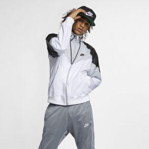Nike Veste à capuche Sportswear Windrunner pour Homme - Blanc - Taille XL