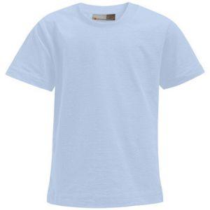 Promodoro T-shirt Premium Enfants, 140, bleu clair