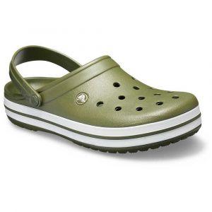 Crocs Sabots Crocband - Army Green / White - EU 36-37