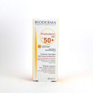 Image de Bioderma Photoderm AR SPF50+ - Crème teintée très haute protection