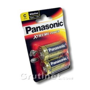 Panasonic Alkaline Power LR14AP x2
