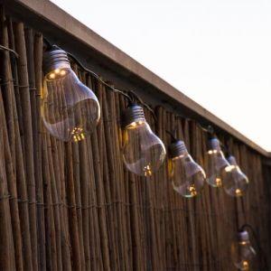 Lumisky Guirlande extérieure 10 LED longueur 8,3m FANTASY Transparent