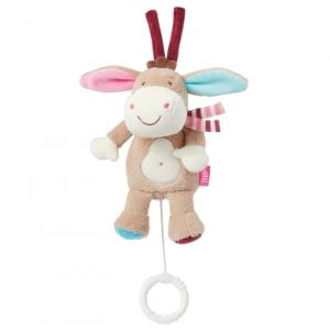 Babysun Doudou mini musical Monkey Donkey